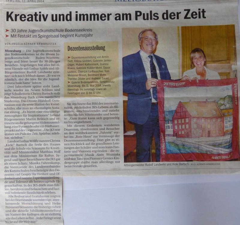 """Festakt """"30 Jahre Jugendkunstschule"""""""