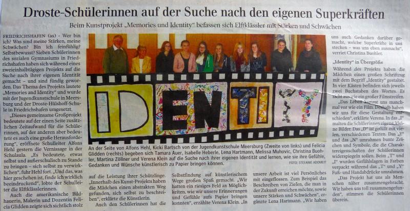 Schulkooperation mit der Droste-Hülshoff-Schule