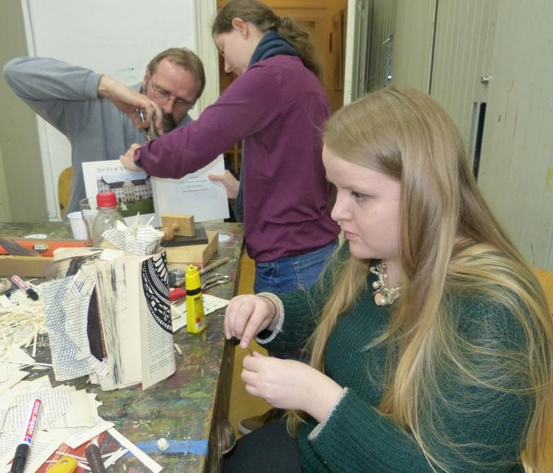 Schulkooperation Jugendkunstschule/Justus von Liebig Schule