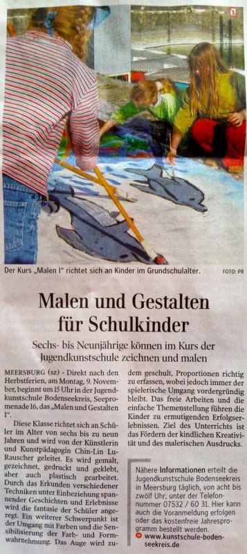 Neues aus der Schwäbischen Zeitung