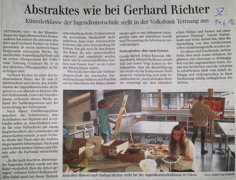 Danke an Hubert Kaltenmark für die wunderbaren Ausstellungen!!!